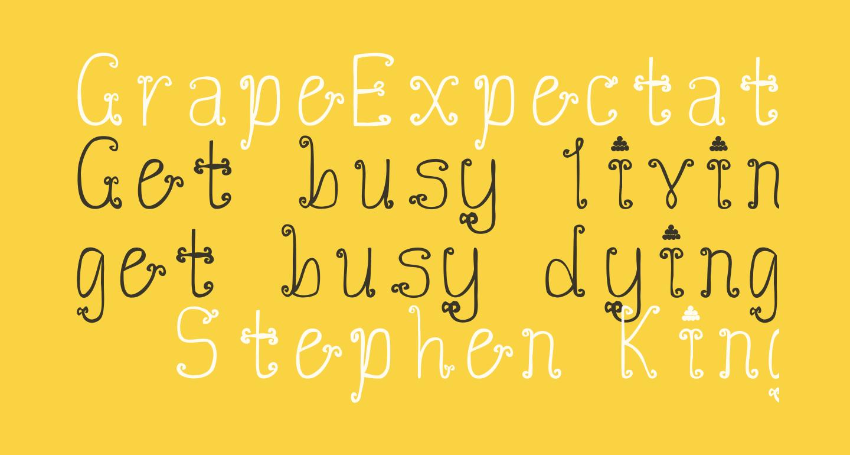GrapeExpectations