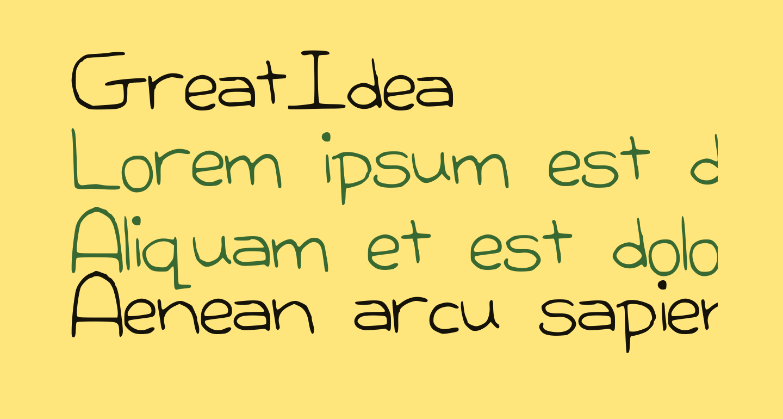 GreatIdea