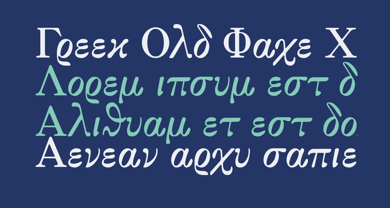 Greek Old Face C
