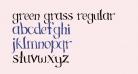 Green Grass Regular