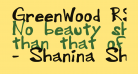 GreenWood_RS