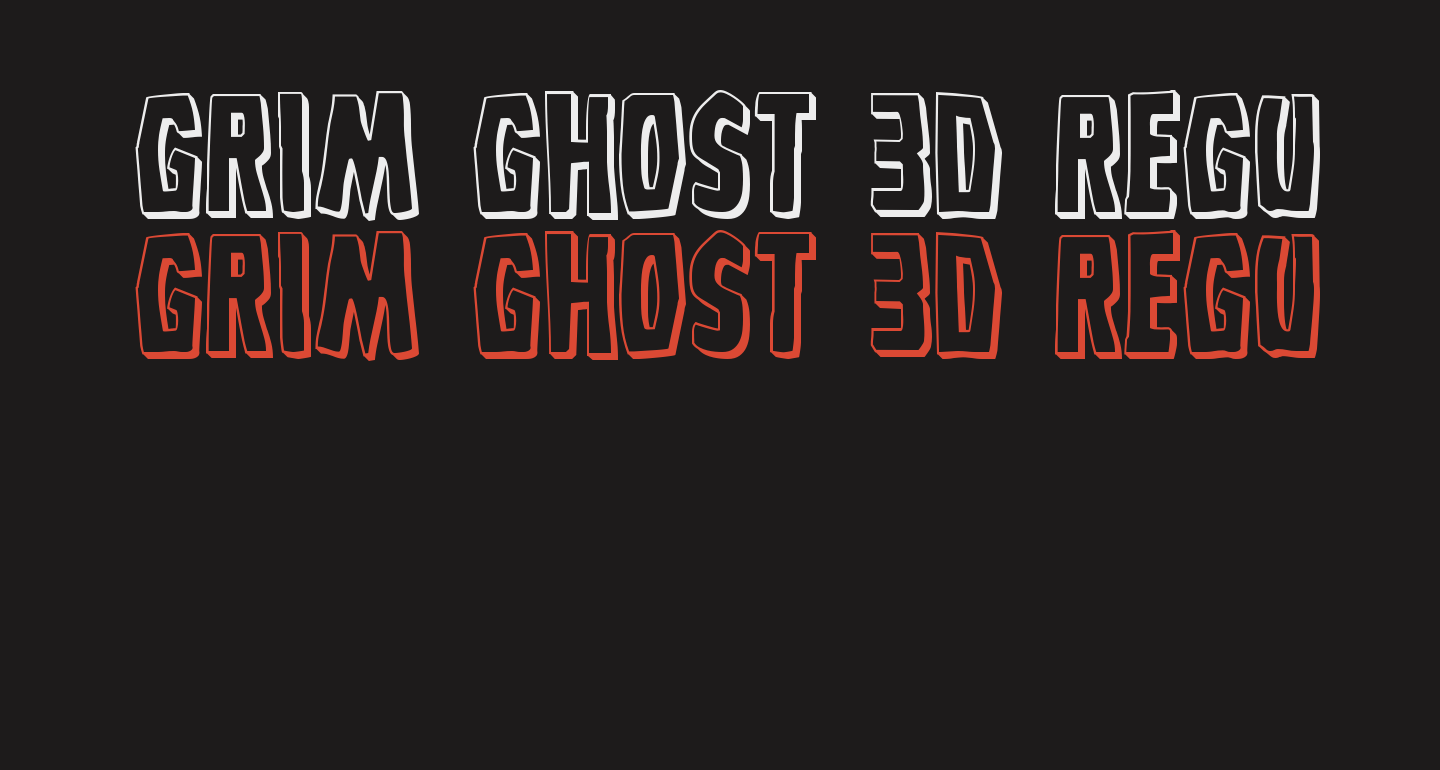 Grim Ghost 3D Regular