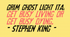 Grim Ghost Light Italic