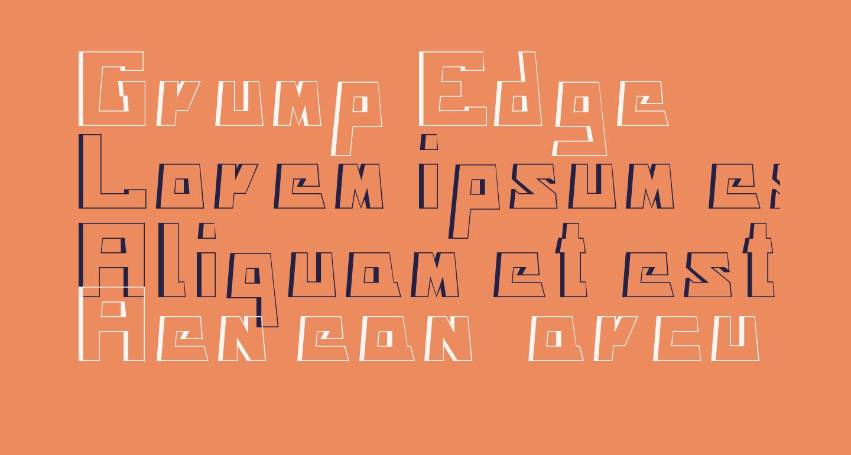 Grump Edge