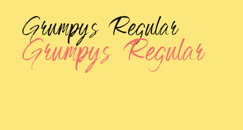 Grumpys Regular