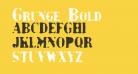 Grunge Bold