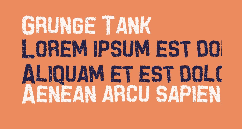 Grunge Tank