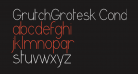 GrutchGrotesk Condensed Light