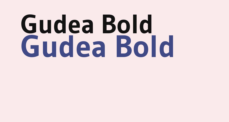Gudea Bold