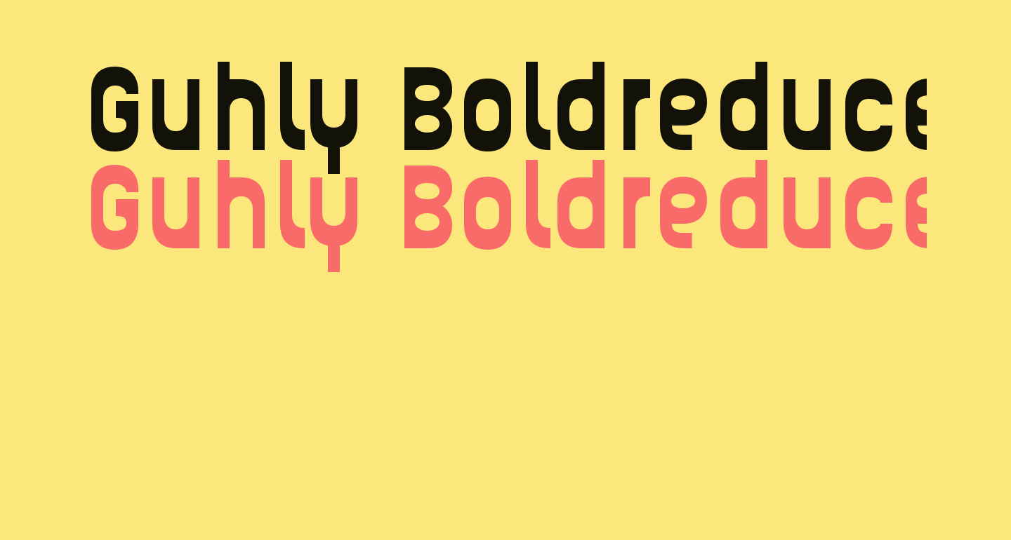 Guhly-Boldreduced