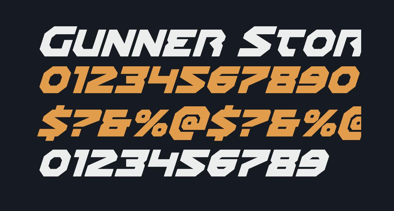 Gunner Storm Italic