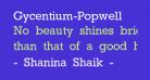 Gycentium-Popwell