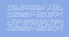 Gypsy Killer 3D Italic