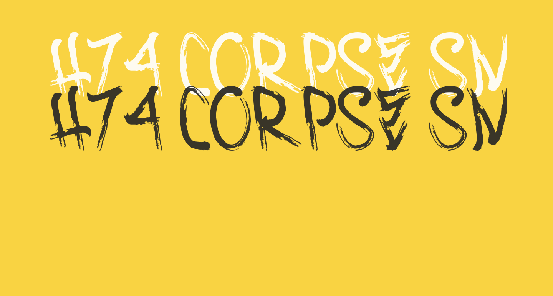 H74 Corpse Smudge