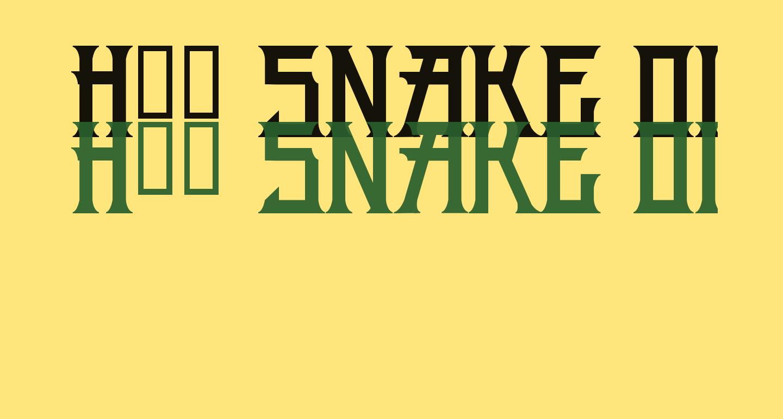 H74 Snake Oil Solid