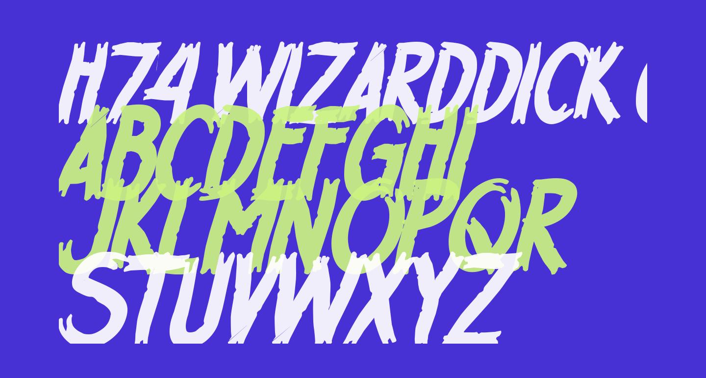 H74 WizardDick Crooked