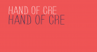 HAND OF CRE