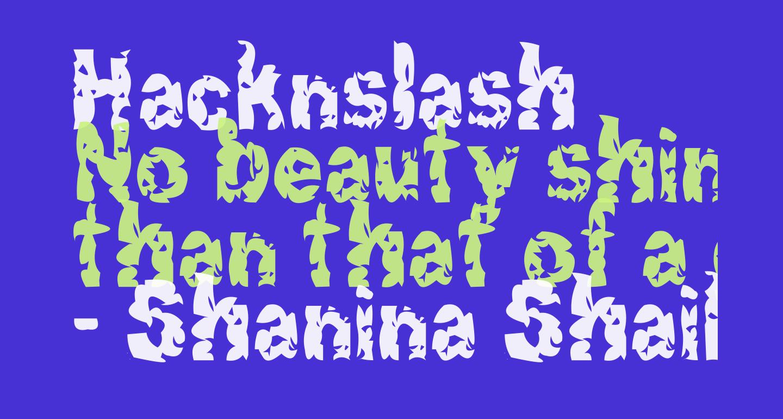 Hacknslash