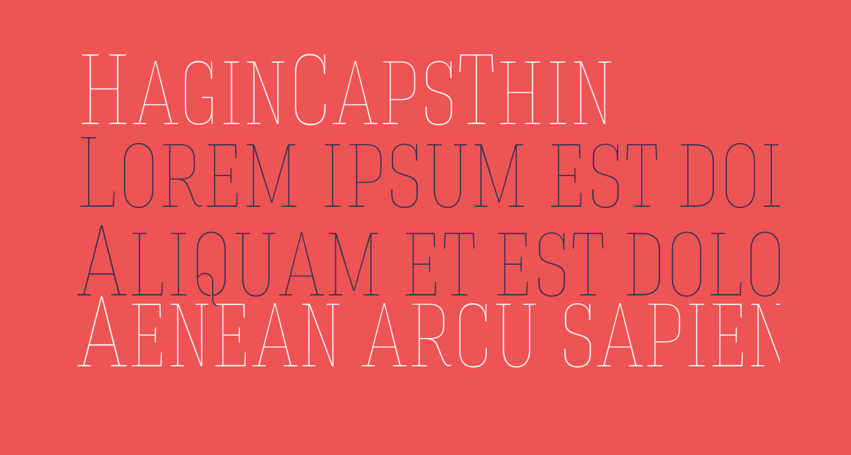 HaginCapsThin