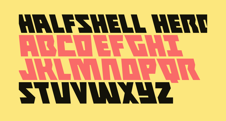 Halfshell Hero Leftalic