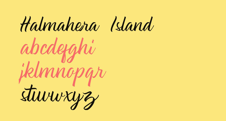 Halmahera Island