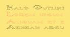 Halo OutlineRegular