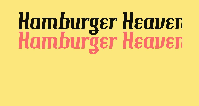 Hamburger Heaven NF
