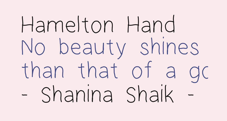 Hamelton Hand