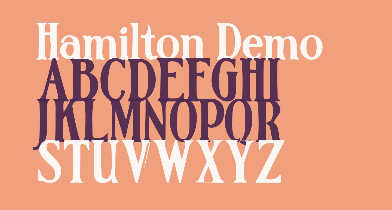 Hamilton Demo