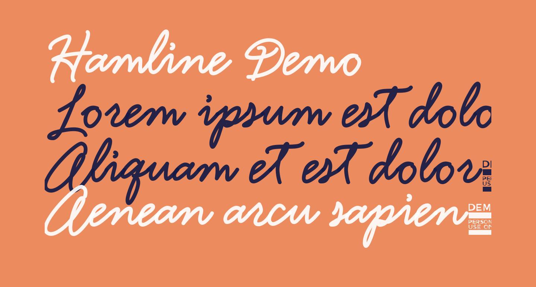 Hamline Demo