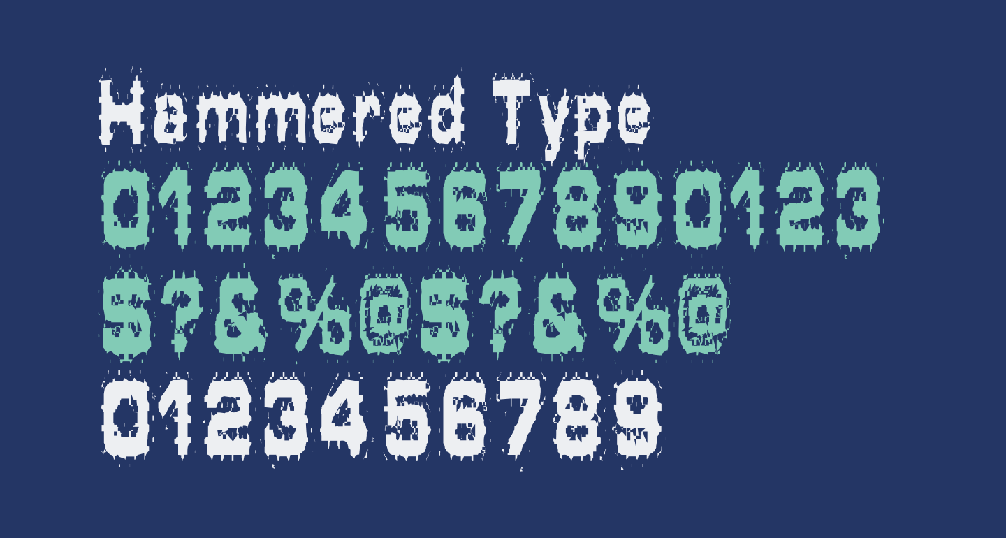 Hammered Type