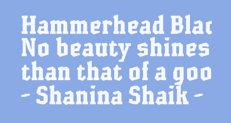 Hammerhead Black