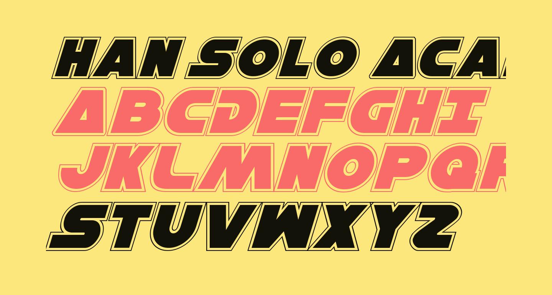 Han Solo Academy Italic