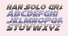 Han Solo Gradient Italic