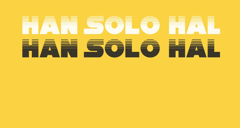 Han Solo Halftone