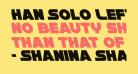 Han Solo Leftalic