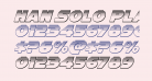 Han Solo Platinum Italic