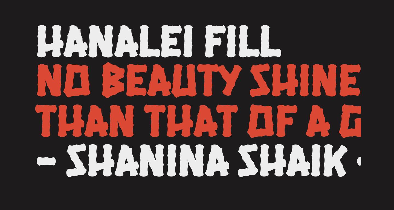 Hanalei Fill