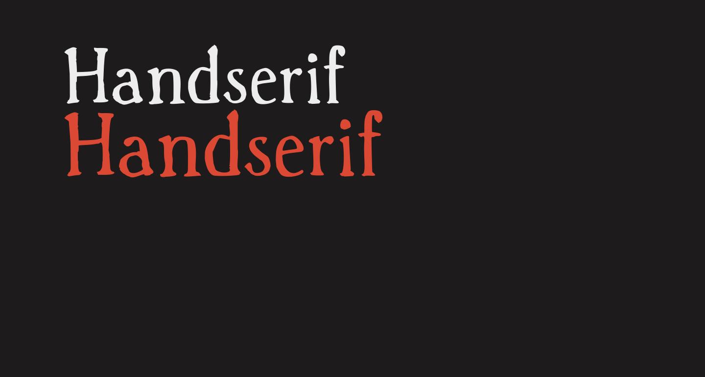 Handserif