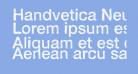 Handvetica Neue