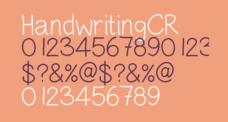 HandwritingCR