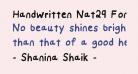 Handwritten Nat29 Font Medium