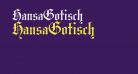 HansaGotisch