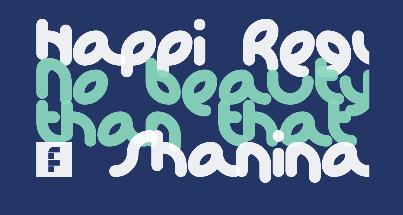 Happi Regular