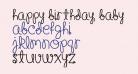 Happy Birthday, Baby [Bold]Regular