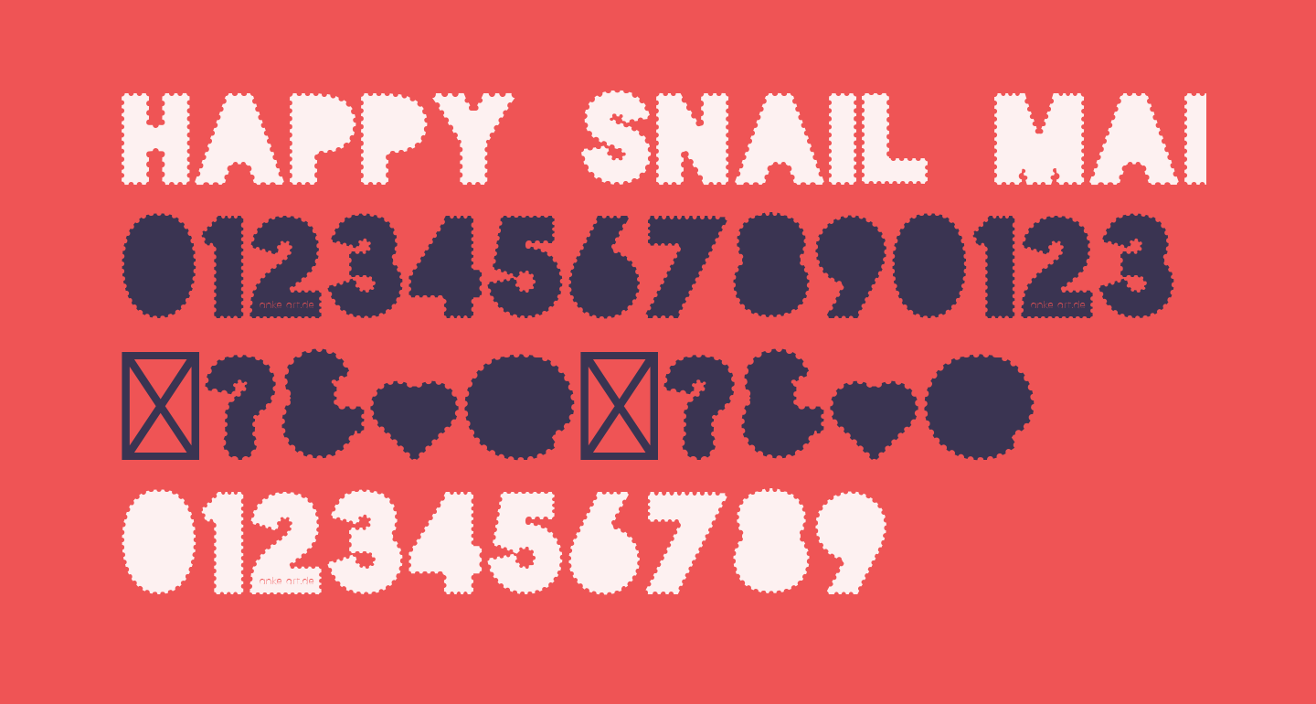 Happy Snail Mail DEMO Paper