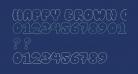 Happy brown cat