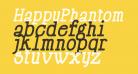 HappyPhantom Bold Italic