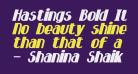 Hastings Bold Italic