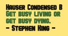 Hauser Condensed Bold